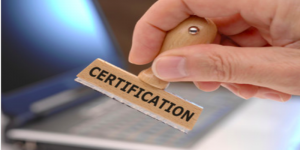 Certification in Information Technology